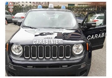 Ecco la jeep renegade dei carabinieri presentato il for Interno jeep renegade